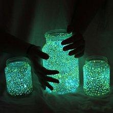 świetlane słoiczki#2