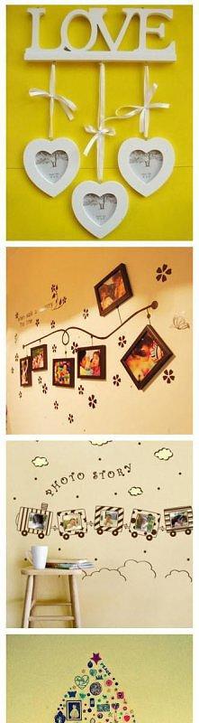 Nie wiesz jak rozmieścić zdjęcia na ścianie? Skorzystaj z gotowych pomysłów.