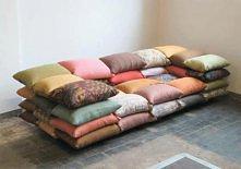 Kanapa z poduszek