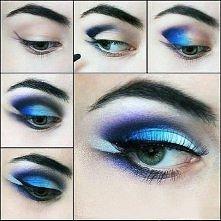 Niebiesko-biały