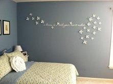 kwiatki na ściany
