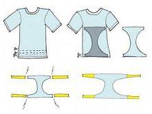 jak zrobić kostium z T-shirt