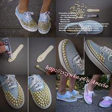 Buty z ćwiekami