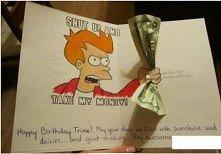 Pomysłowa kartka na urodziny