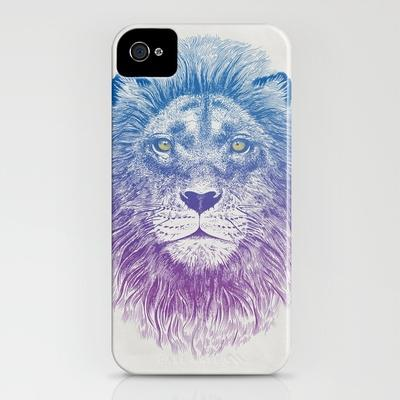 Face of Lion iPhone Case