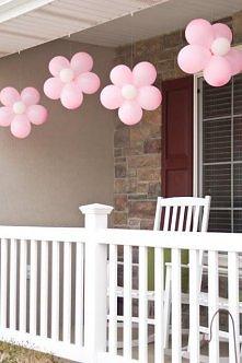 balonowe kwiaty