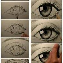 Jak narysować oko...
