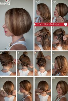 sposób na długie włosy:)