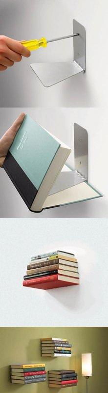 Niewidzialna półka na książ...