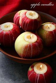 Świeczki jabłuszka