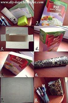 pomysł na pudełko.