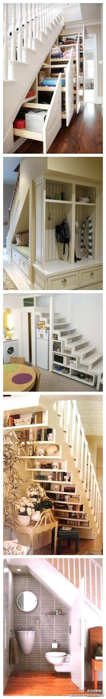 Przestrzeń pod schodami