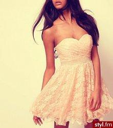 sukienka dla księżniczki ;D