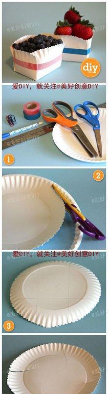 Sposób na papierowy talerzy...