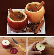 Jabłka z sokiem