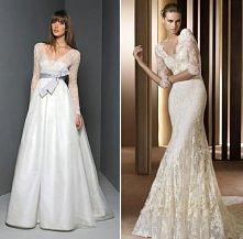 suknie z długim rękawem