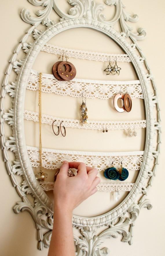 Pomysł Na Przechowywanie Biżuterii Na Diy Zszywkapl