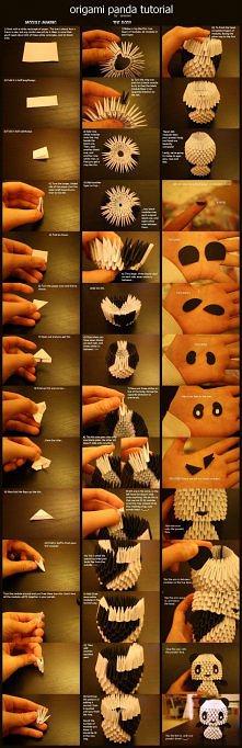 Panda - origami modułowe