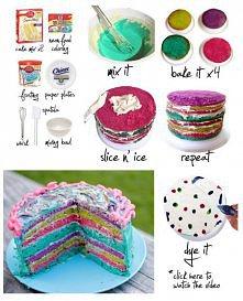 kolorowe ciasto 2