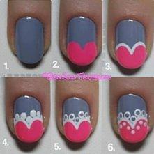 pomysł na paznokcie :)