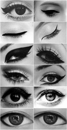 eyeliner ;)