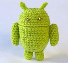 zielony android