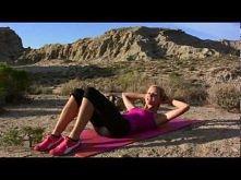 Ćwiczenia na mięśnie brzucha cz 1
