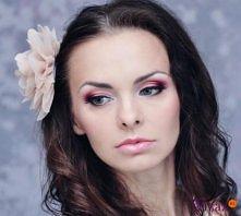 Wyjątkowy makijaż na ślub:)