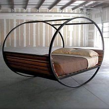 ciekawe łóżko