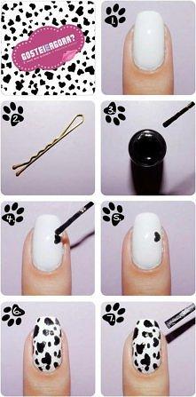Dalmat na paznokciach. :)
