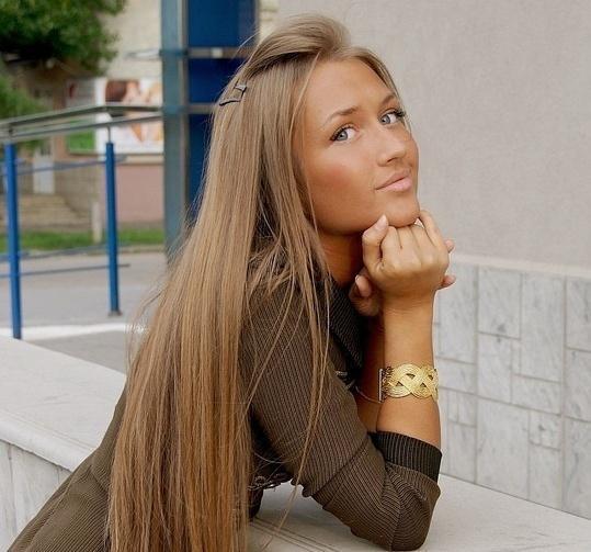 Długie Proste Włosy Na Fryzury Zszywkapl