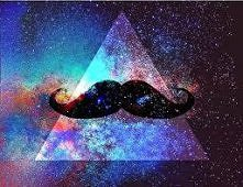Galaxy Moustache
