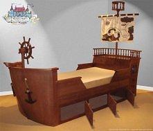 łóżeczko pirackie