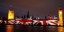 brytyjska flaga i Big Ban