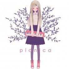 girl with piano ^^