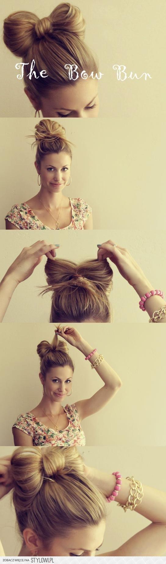 kokarda z włosów ^^