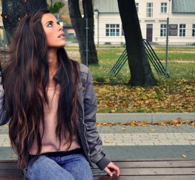 Długie Rozpuszczone Włosy Na Fryzury Zszywkapl
