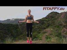 Najlepsze ćwiczenia na spalenie tłuszczu - Cardio ze skakanką i przysiady z c...