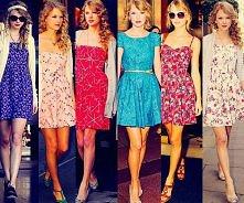 Taylor Swift - sukienki :)