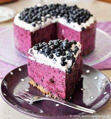 Tort jagódkowy mniam mniam