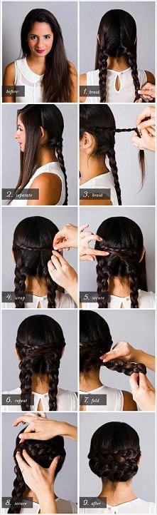 Śliczne fryzury 35