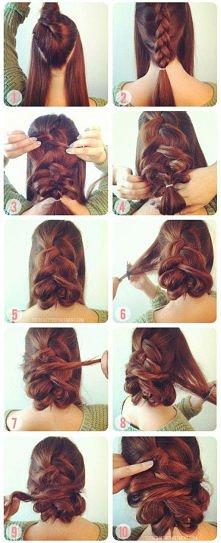 Śliczne fryzury 75