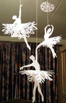 papierowe baletnice