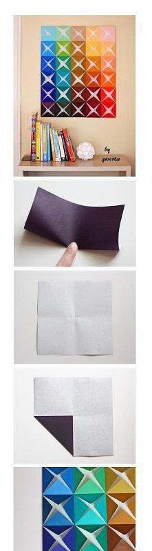 Obraz origami
