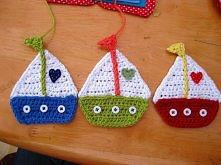 łódki na drutach