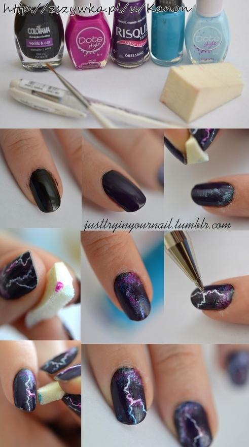 jak ładnie ozdobić paznokcie.