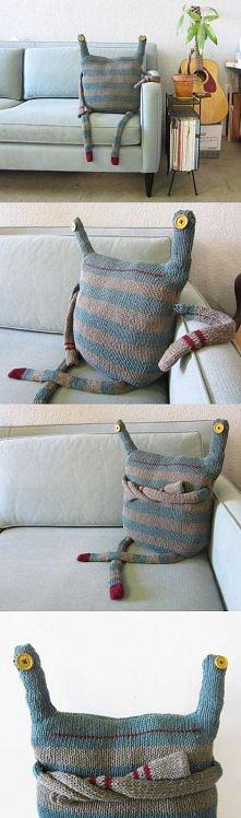 pomysł na poduszkę;)