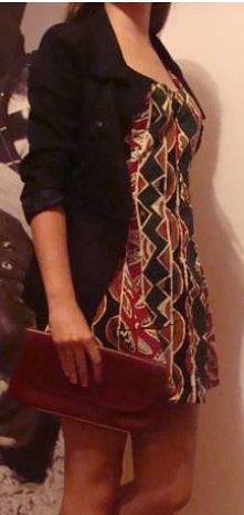 Letnia sukienka w asymetryc...