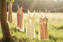przesliczne sukienki sie susza w letnim slonku