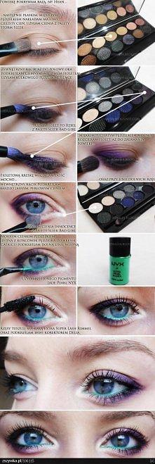 Jak zrobić ładny makijaż ;)